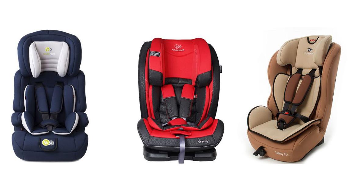 Детски столчета за кола KinderKraft