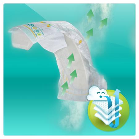 Пелени Pampers Active Baby BOX 4, 8-14 кг, 174 броя