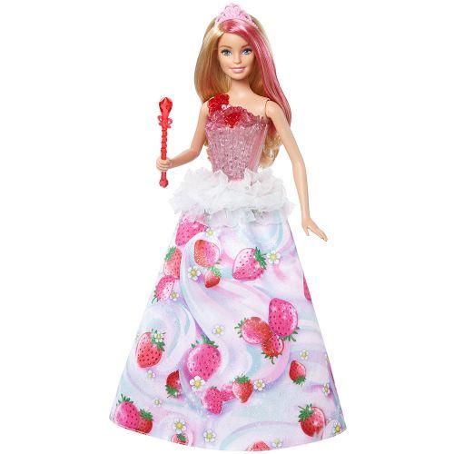 Barbie Кукла принцеса със светлина и звук DYX28