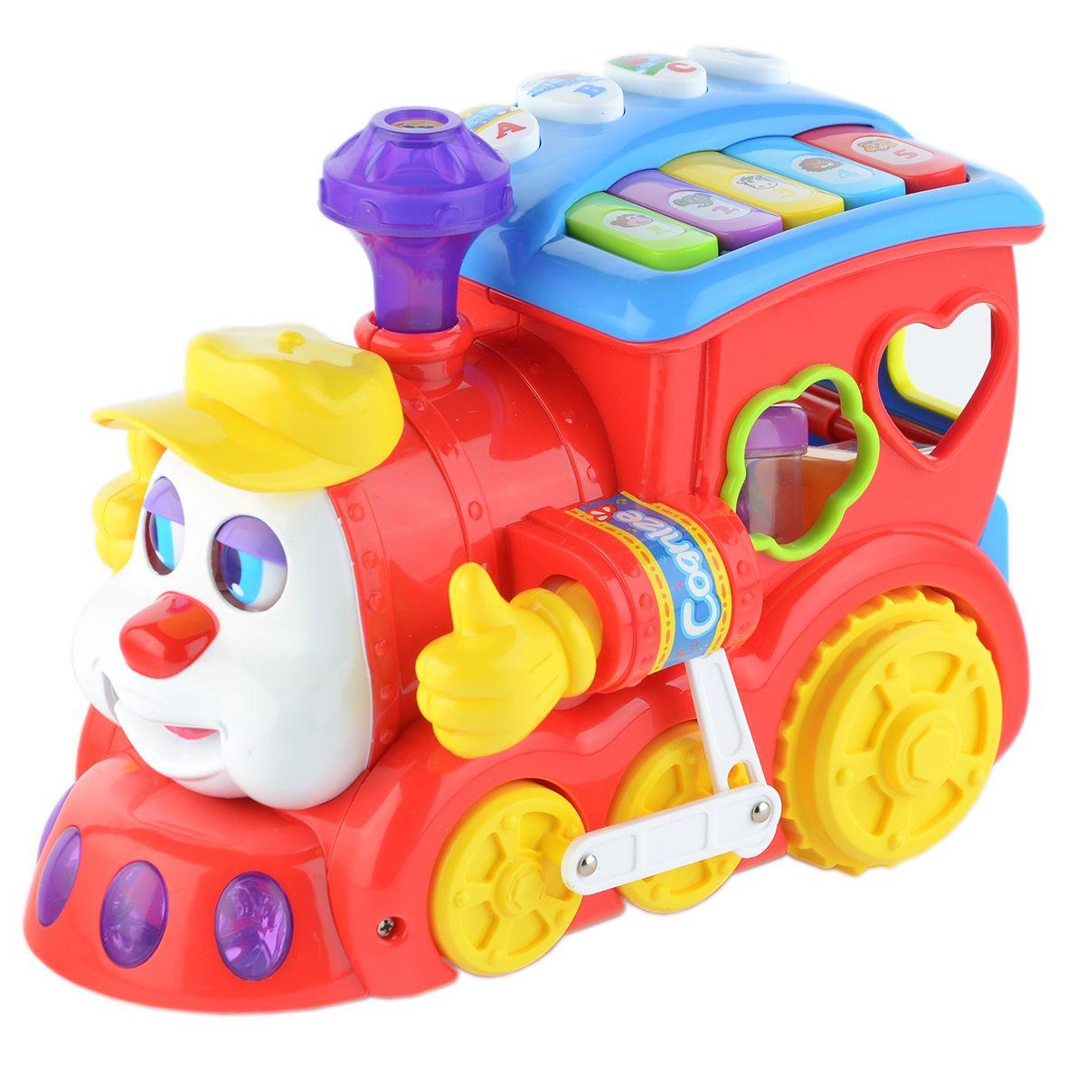 Детска играчка M-Toys, Влакче със светлини, звуци и формички