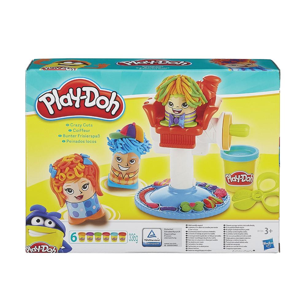 Play-Doh Комплект фризьорски салон B1155