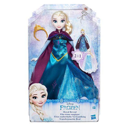 Disney Frozen Трансформираща се кукла 2в1 ЕЛЗА B9203