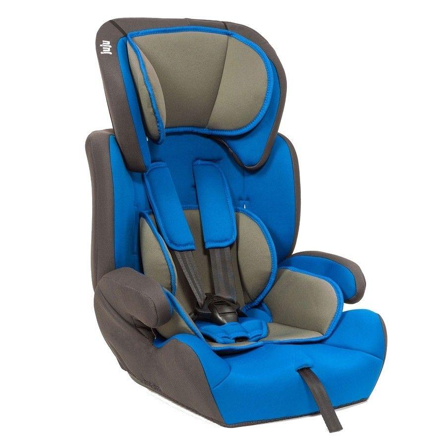 Столче за кола Safe Rider Juju, 9-36 кг, Синьо/Сиво