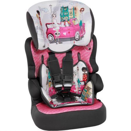 Столче за кола Lorelli Classic X-Drive Plus, 9-36 кг, Pink Tour