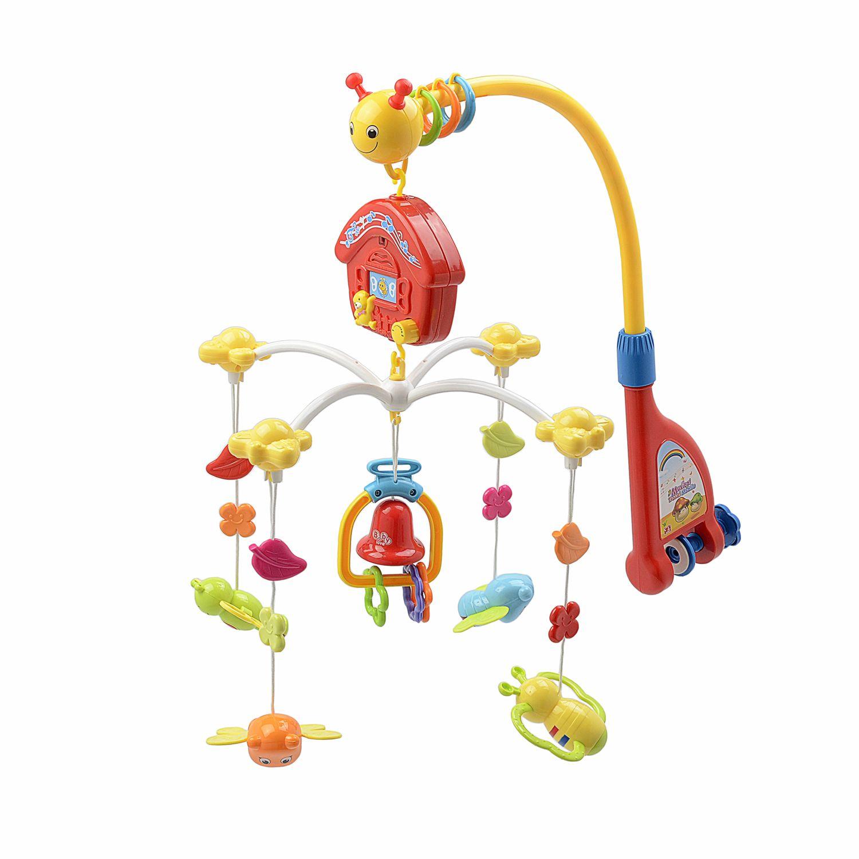 Бебешка въртележка за кошара M-Toys, С дистанционно