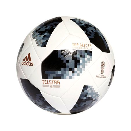 Футболна топка Adidas Telstar, Top Glider, Grey/White, 5