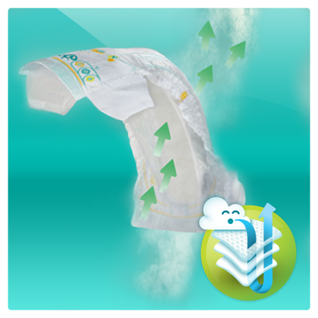 Пелени Pampers Active Baby XXL BOX 4, 8-14 кг, 174 броя