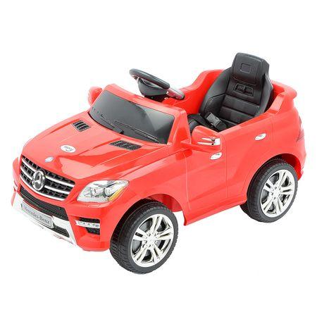 Електрическа кола с дистанционно управление за деца Mappy Mercedes Benz ML350 Червена