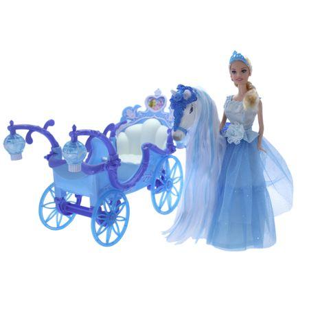 Комплект M-Toys Принцеса с каляска и кон