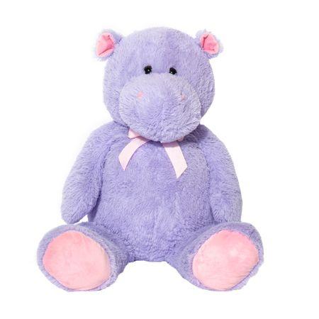 Плюшена играчка Mappy Fluffy Friends, Хипопотам, 100 см