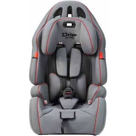 Столче за кола 2Drive SAG-15, 9 - 36 кг, Сиво