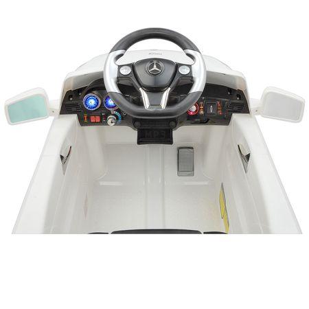 Електрическа кола с дистанционно управление за деца Mappy Mercedes-Benz ML350 Бяла