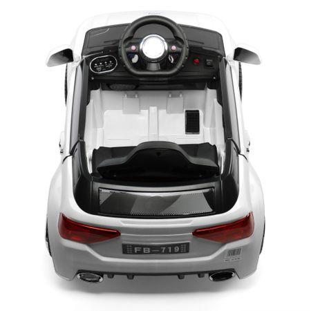 Електрическа кола Mappy Nitro, За деца, Бяла