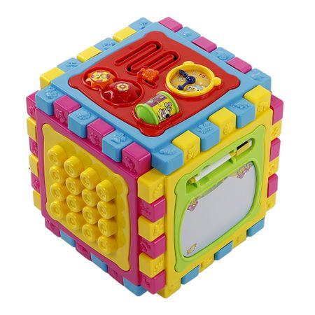 Интерактивна играчка M-Toys, Кубче, 6 in 1