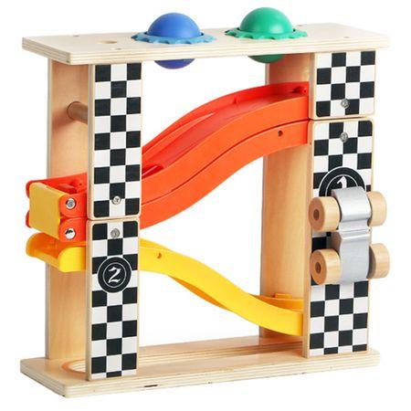 Комплект 2 in 1 M-Toys, Работна маса и писта