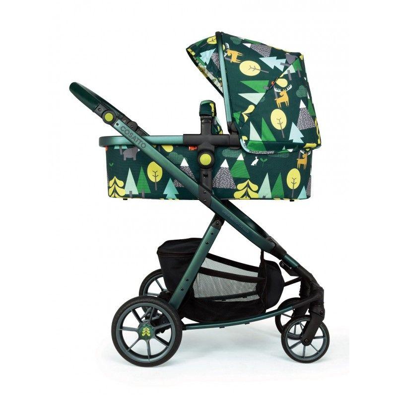 Cosatto Бебешка количка 3 в 1 Giggle Quad INTO THE WILD CT4166+CT4135A+CT4173+CT3753A/NEW022629B