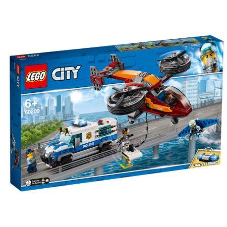 LEGO® City - Кражба на диаманти с полицейски самолет 60209