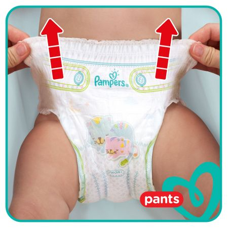 Пелени-гащички Pampers Pants XXL Box 6, 15 + кг, 132 броя
