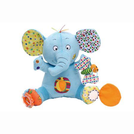 Интерактивна плюшена играчка M-Toys - Слон, 30 см