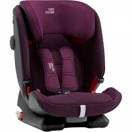 Стол за кола ISOFIX Britax Romer Advansafix IV R Burgundy Red, 9-36 кг