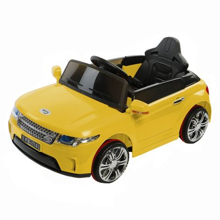 Електрическа кола Mappy Nitro, За деца, Жълта