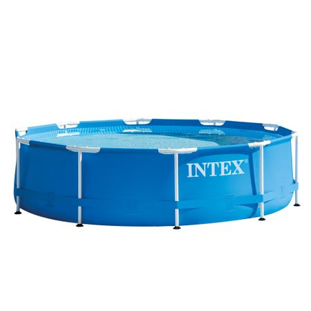 Басейн Intex 28202NP, Метална рамка, 305 x 76 см, Включена помпа за филтриране
