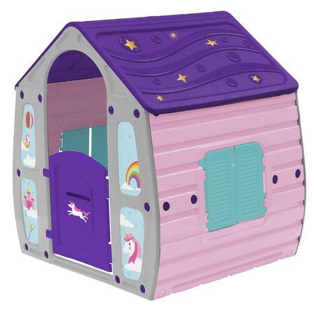 Детска къща за игра M-Toys Magic, Розов/Лилав