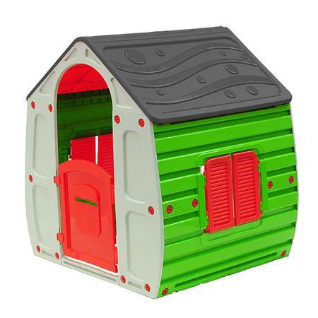 Детска къща за игра M-Toys Magic, Сив/Зелен