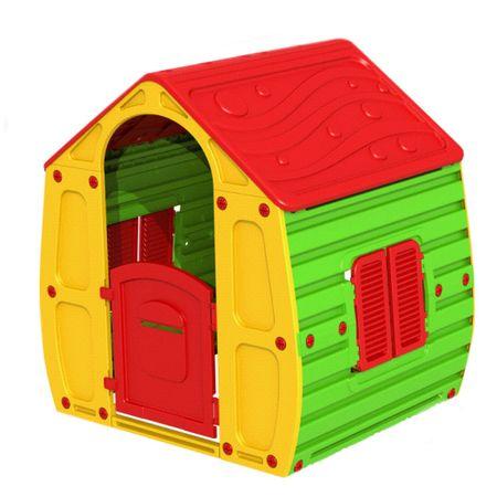 Детска къща за игра M-Toys Magic, Червен/Зелен