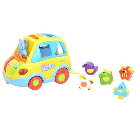 Играчка количка M-Toys - Smart Bus, Пееща, Светеща