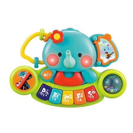 Интерактивна играчка M-Toys - Слонче с пиано