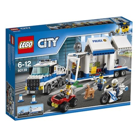 LEGO City Police Мобилен команден център 60139