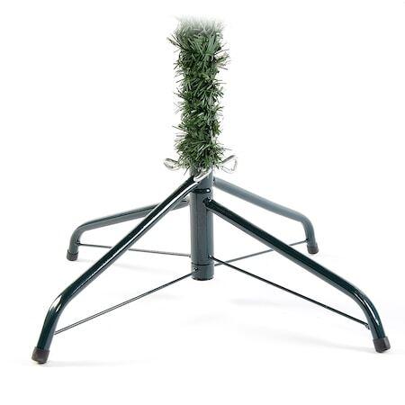 Изкуствена елха Kring Dakota, PVC, 180 см, Метална стойка