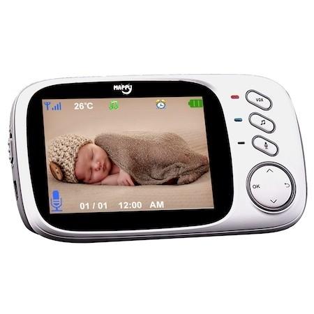 Видео бебефон Mappy VBM-8700, Функция уоки-токи, Приспивни песнички, Нощно виждане
